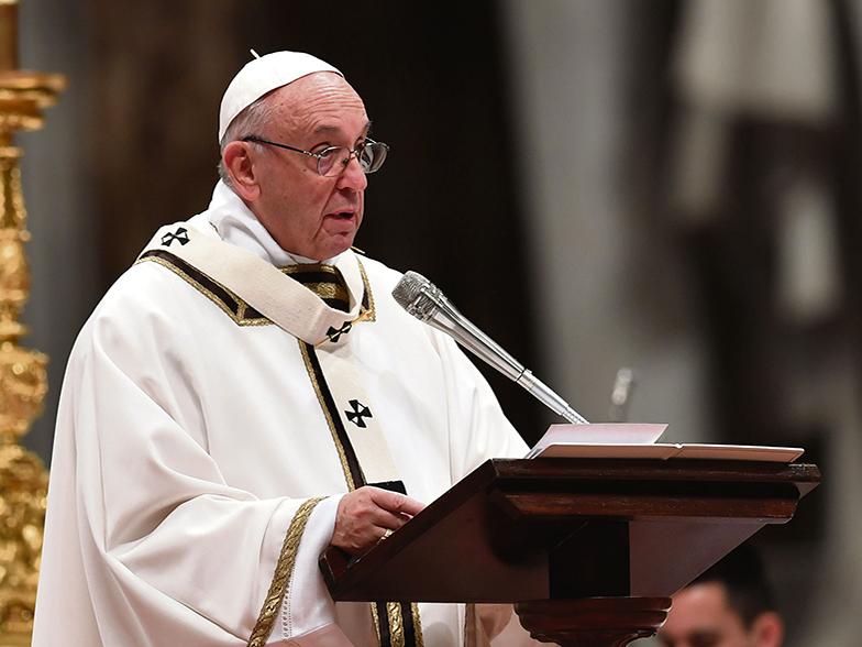 Paavi kansainväliselle Caritakselle: Pyhä Henki tuli tulena, ei tuomaan päiväjärjestystä
