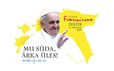 Paavi Franciscuksen saarna messussa Tallinnan Vapaudenaukiolla
