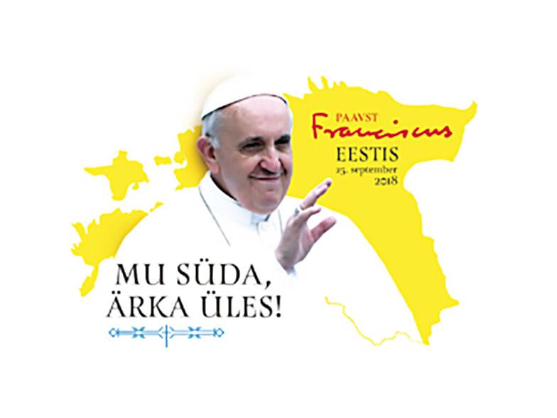 Paavi Virossa: ekumeeninen nuorten tapaaminen Kaarlin kirkossa