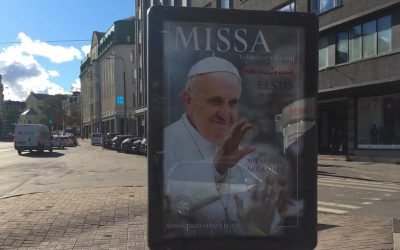 Paavi Franciscus vierailee Virossa