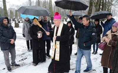 Nyt on Helsingissäkin katolinen hautausmaa