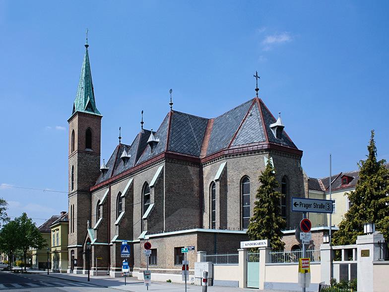 Kirkko välikohtauksen kohteena Wienissä